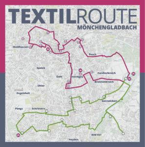 TextilRoute Verlauf